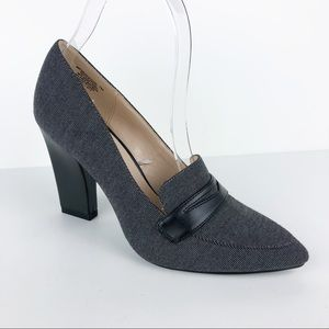 Nine West Barrington Chunky Heeled Loafers